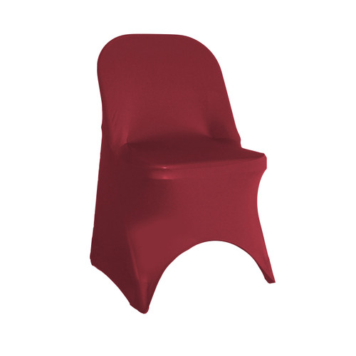 Spandex Folding Chair Cover Burgundy