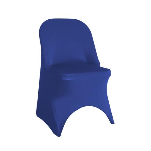 Stretch Spandex Folding Chair Cover Royal Blue
