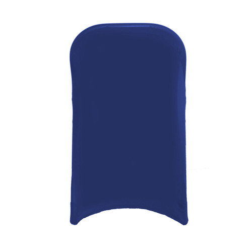 Stretch Spandex Folding Chair Cover Royal Blue For Weddings