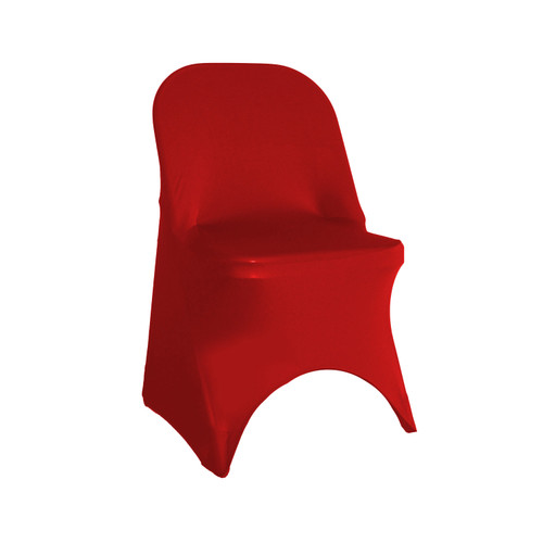Stretch Spandex Folding Chair Cover Red