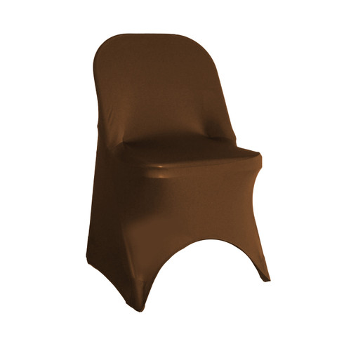Stretch Spandex Folding Chair Cover Chocolate Brown