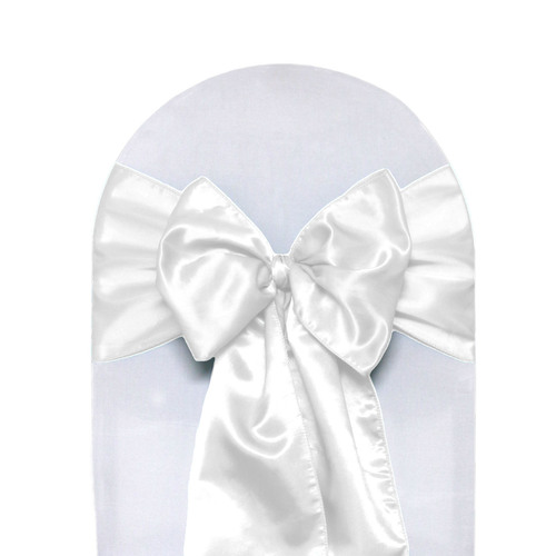 White Chair Sashes