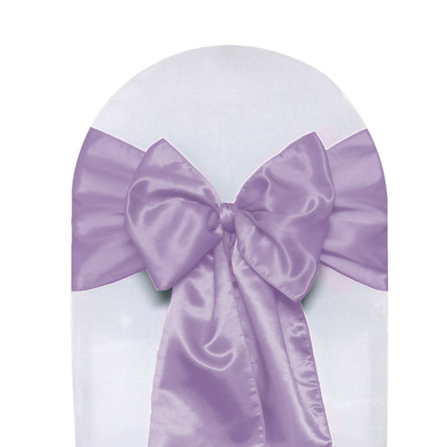 Satin Sashes Lavender