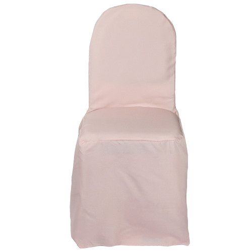 Polyester Chair Cover Blush For Wholesale