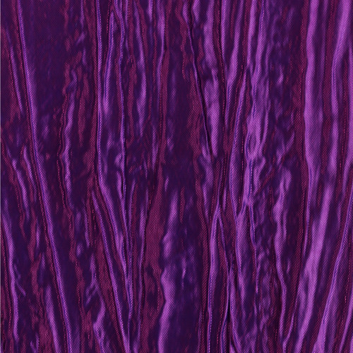 90 x 156 Inch Rectangular Crinkle Taffeta Tablecloth Purple