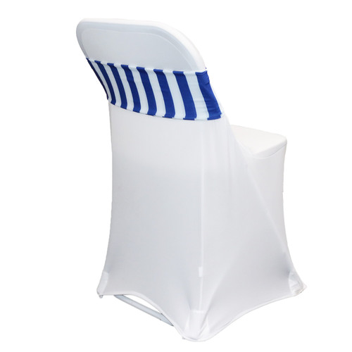 Spandex Chair Bands Royal Blue