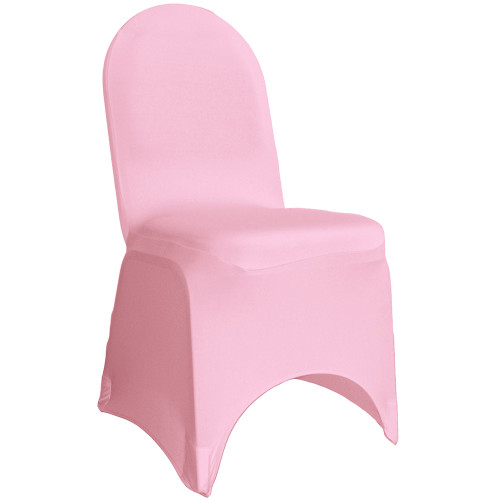 Stretch Spandex Banquet Chair Cover Pink