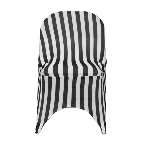 Spandex Folding Chair Covers Red/White For Wholesale