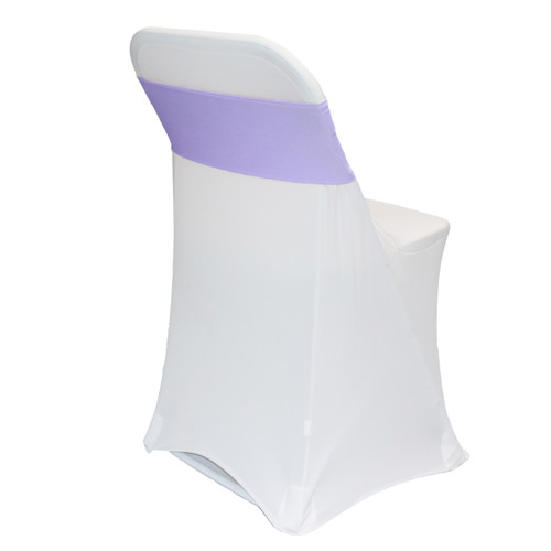 Spandex Chair Sashes Lavender