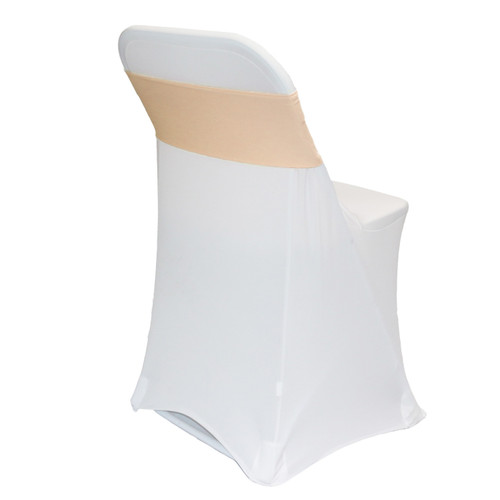 Spandex Chair Sashes Peach