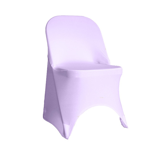 Stretch Spandex Folding Chair Cover Lavender