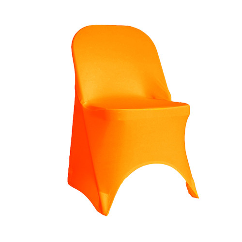 Stretch Spandex Folding Chair Cover Orange