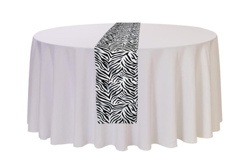 Table Runner Zebra