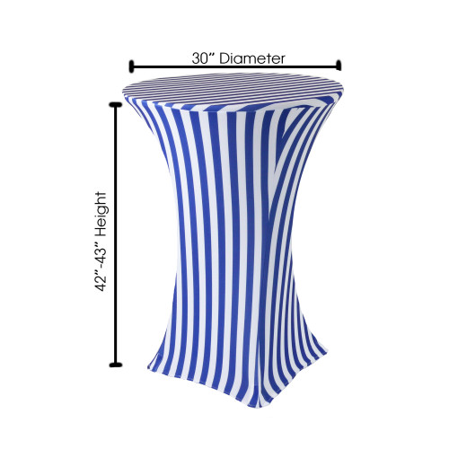 Cocktail Table Cover Dimensions