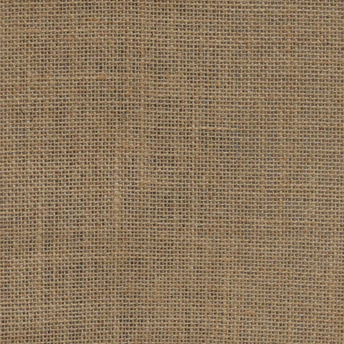 burlap table runners close up