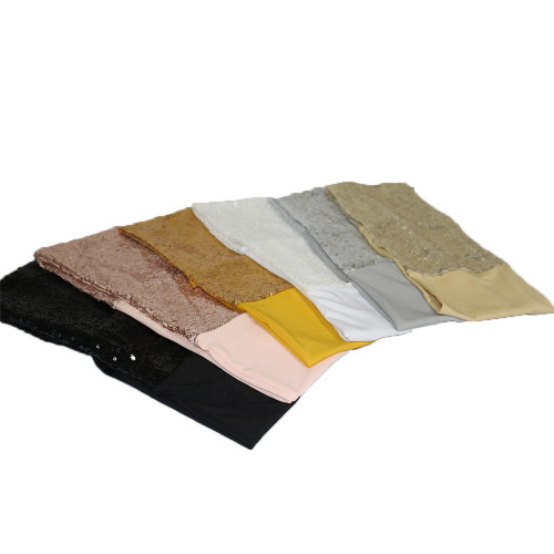 Stretch Spandex Glitz Sequin Band Sample Pack