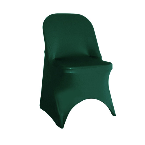 Hunter Green Spandex Folding Chair Covers