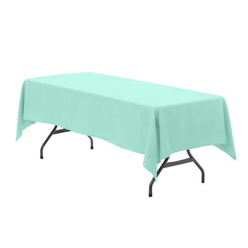 60 x 102 Inch Rectangular Polyester Tablecloth Tiffany