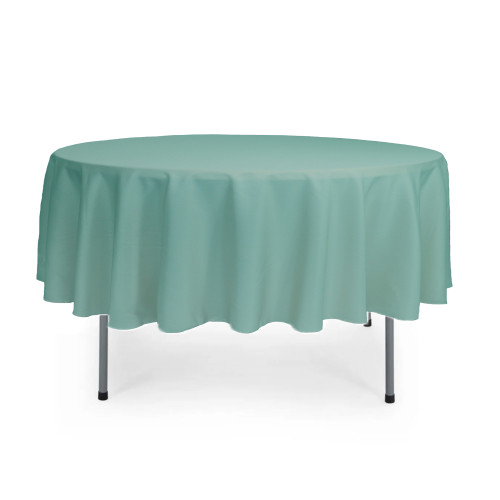 90 Inch Round Polyester Tablecloth Tiffany