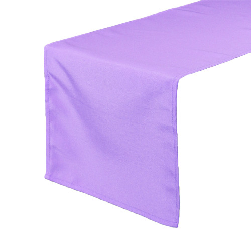 14 x 108 Inch Polyester Table Runner Lavender