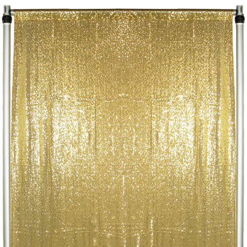 full glitz gold drape