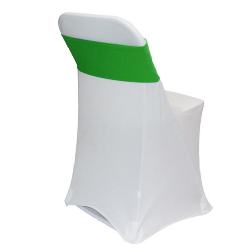 Spandex Chair Sashes Emerald Green