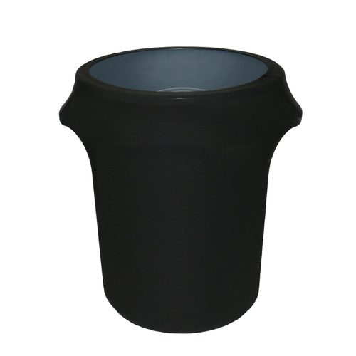 32 Gallon Spandex Trash Can/Waste Container Cover Black