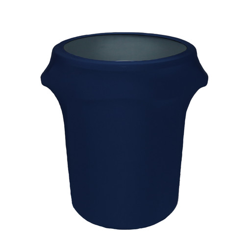 Copy of 32 Gallon Spandex Trash Can/Waste Container Cover Navy Blue