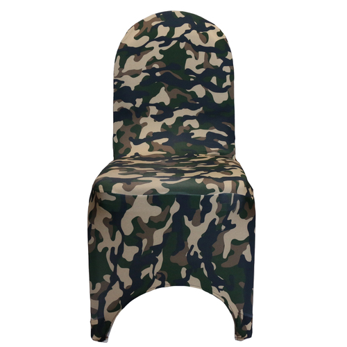 Stretch Spandex Banquet Chair Cover Camouflage/Army