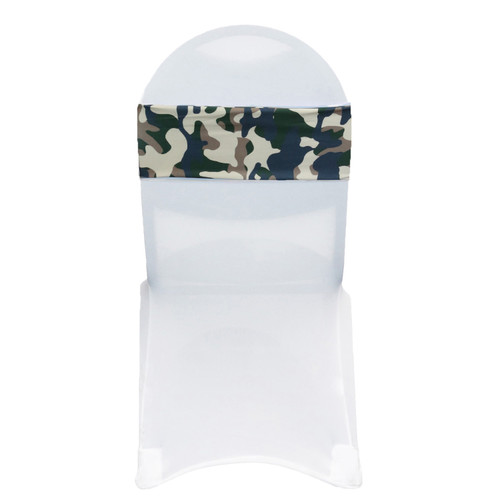 10 Pack Stretch Spandex Chair Bands Camo