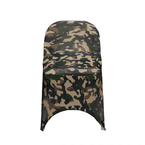 Stretch Spandex Folding Chair Covers Camo