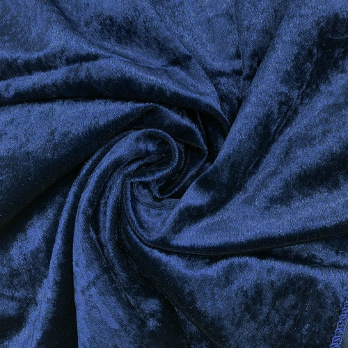 14 x 108 Inch Velvet Table Runner Navy Blue