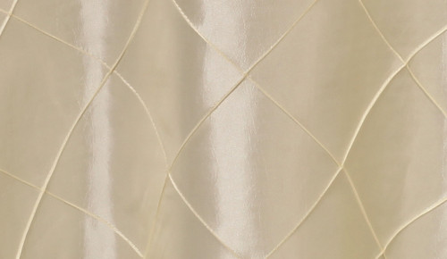 120 Inch Pintuck Taffeta Round Tablecloth Ivory