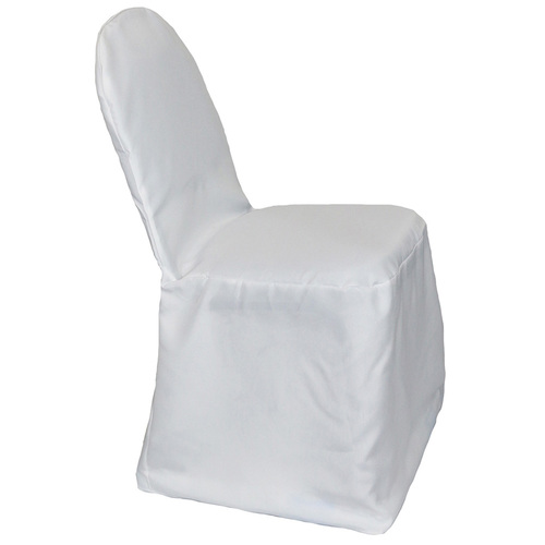 Polyester Banquet Chair Covers White