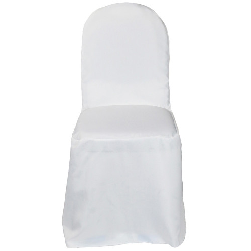 Wholesale Polyester Banquet Chair Covers White