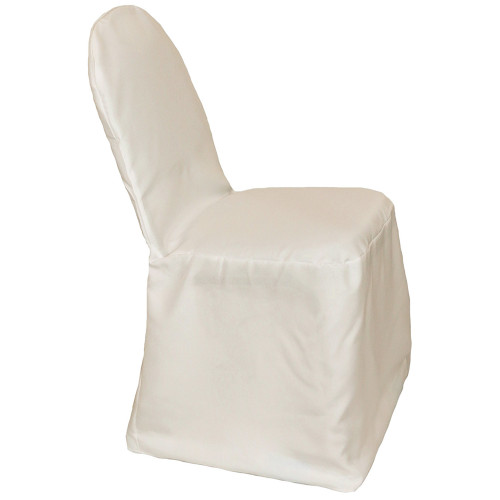 Polyester Banquet Chair Covers Ivory