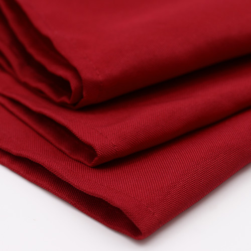 Polyester Dark Red