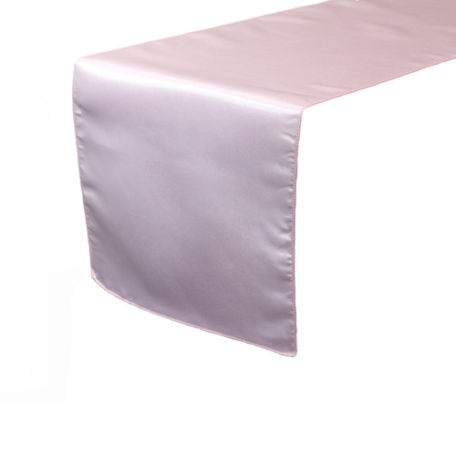 14 x 108 inch Satin Table Runners Pink