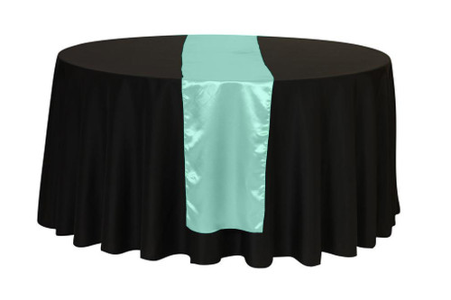 14 x 108 Inch Satin Table Runner Tiffany