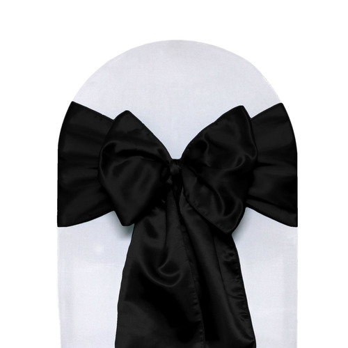 Satin Sashes Black