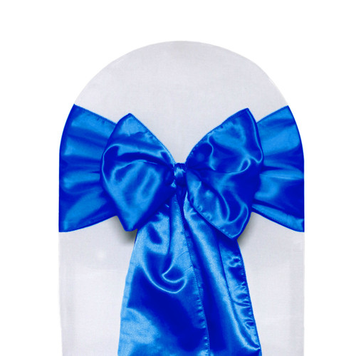 Satin Sashes Royal Blue