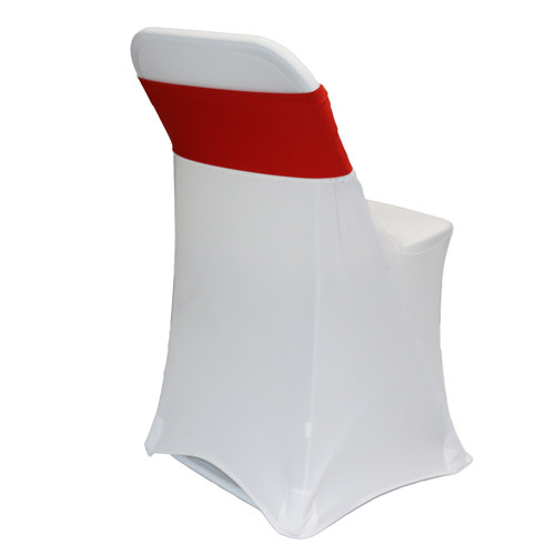 Spandex Chair Sashes Red