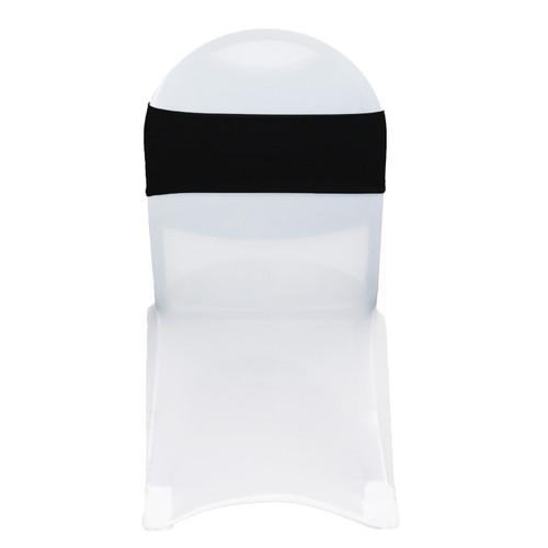 Stretch Spandex Chair Bands Black