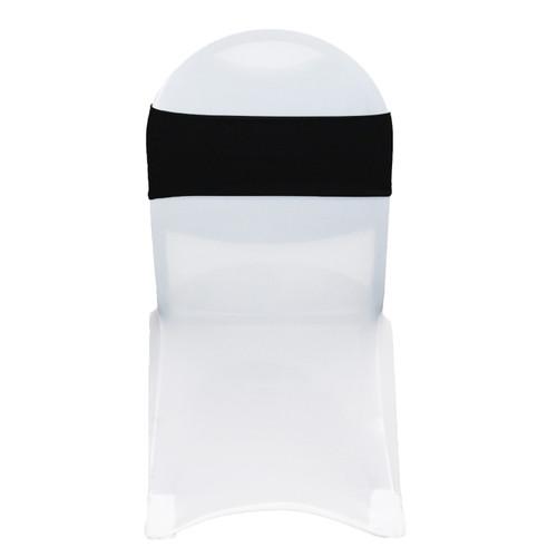 Stretch Spandex Chair Bands Black