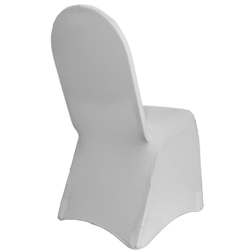 Spandex Banquet Chair Covers Silver