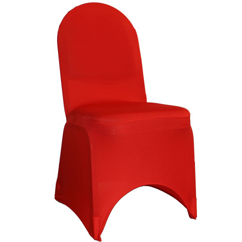 Spandex Banquet Chair Covers Red