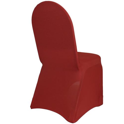 Spandex Banquet Chair Covers Burgundy