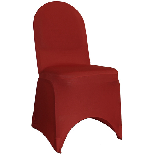 Spandex Banquet Chair Covers Burgundy For Wholesale