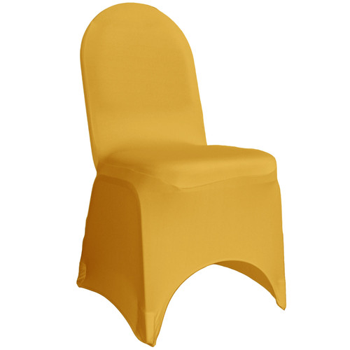 Spandex Banquet Chair Cover Gold