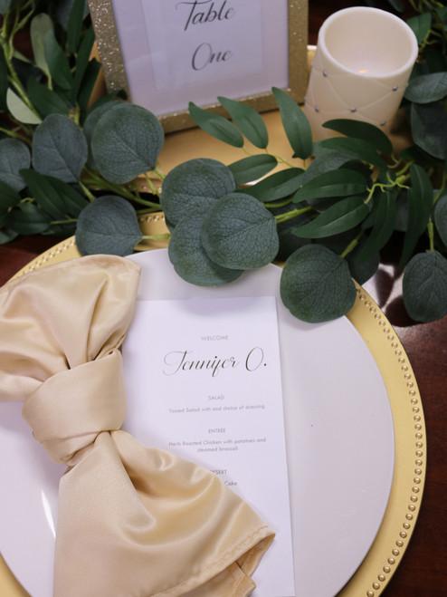 champagne lamour napkins